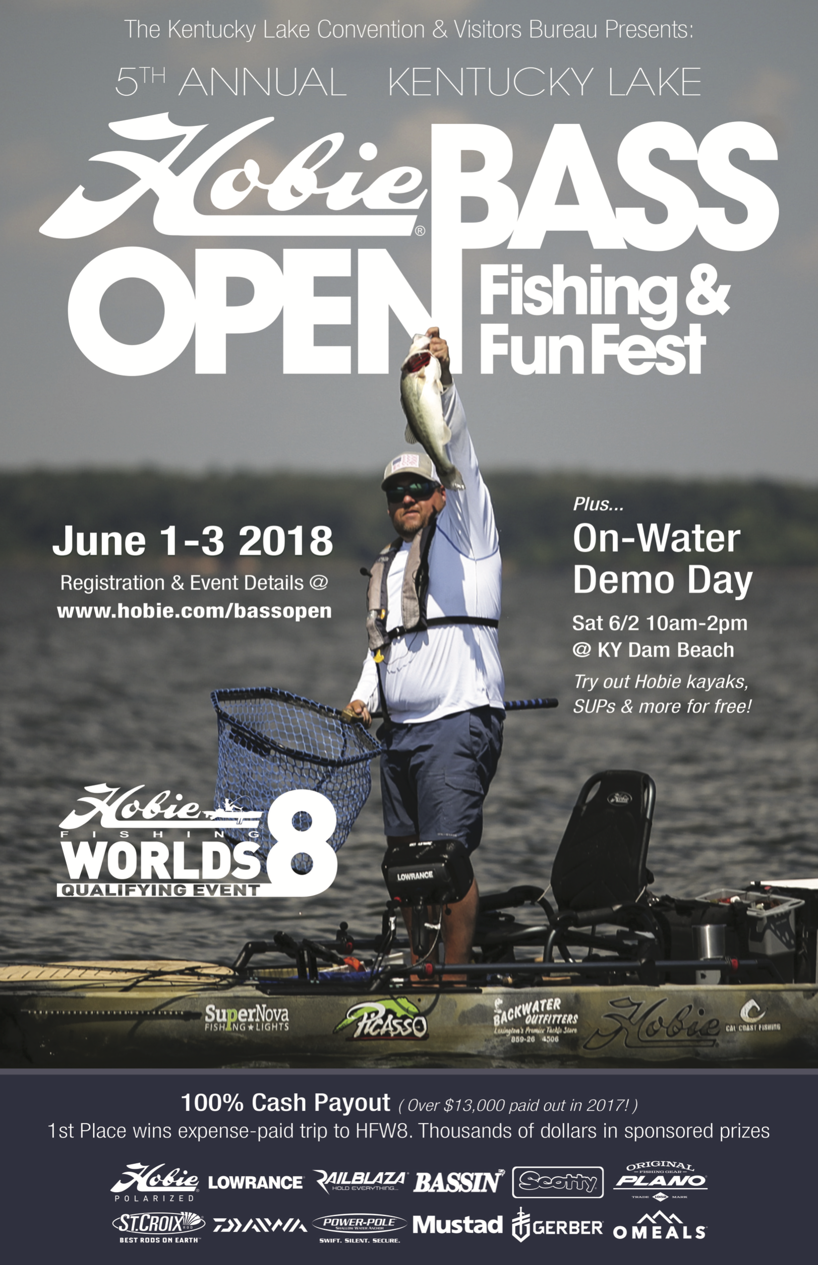 2018 Hobie Bass Open (Adult Division) & Fun Festival